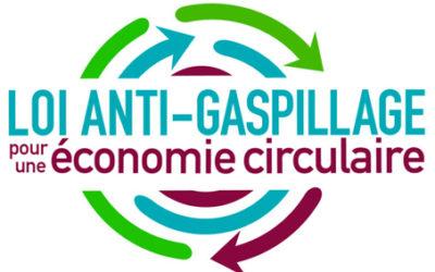 Loi Anti-Gaspillage, pour une économie circulaire.