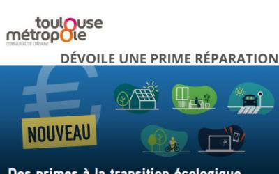 Toulouse Métropole innove avec la «Prime Réparation»